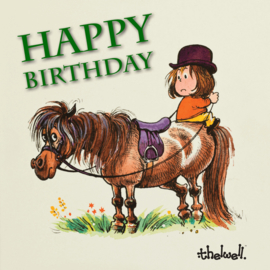 """Happy Birthday"" Thelwell Sound Kaart"