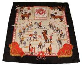 Sjaal Spaanse Rijschool - Zwart