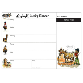 Weekplanner Thelwell Pony's