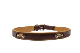 Paardenriem Noble Outfitters Bit - Vijg/Bruine Suiker