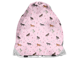 Gymtas Paarden Roze Animal Pictures