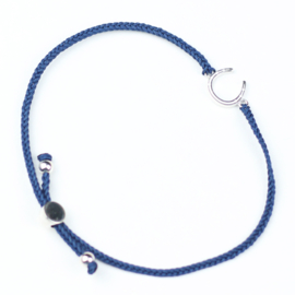 Armband Hoefijzer Friendship Navy