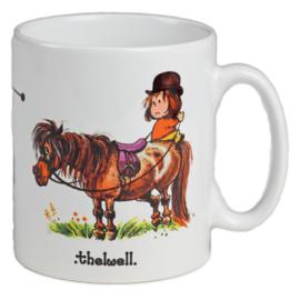 Thelwell Pony Mok Ruiterhoudingen