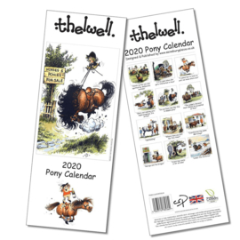 Smalle Kalender Thelwell Pony 2020