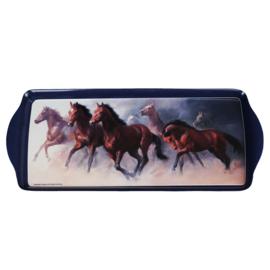 Paarden Dienblad Running Wild