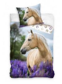 Dekbedovertrek Paard Palomino