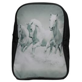 Kinder Rugzak Witte Paarden