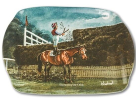 "Thelwell Paarden Dienblad ""Shortening the Odds"""