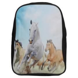 Kinder Rugzak Rennende Paarden