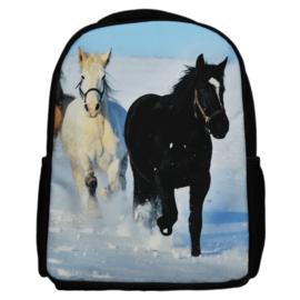 Rugzak Paarden in de Sneeuw