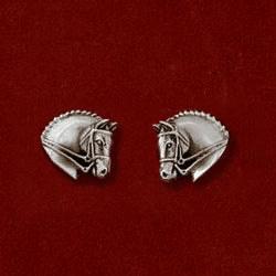 Oorstekers Dressuur Zilver Jane Heart
