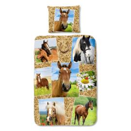 Paardenplaatjes Dekbedovertrek 140x220