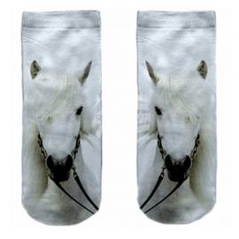 Sokken Wit Paard