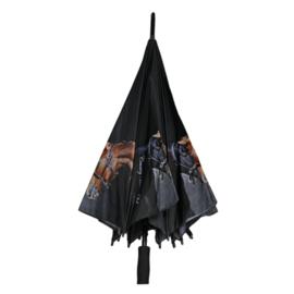 Paarden Paraplu - Zwart