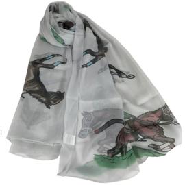 Sjaal Renpaard - Licht Grijs