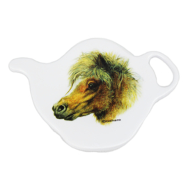 Paarden Theezakhouder Shetlander