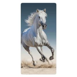 Strandlaken 70x140 Wit Paard