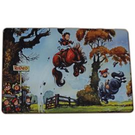 Paarden werkblad Thelwell Rodeo Rider