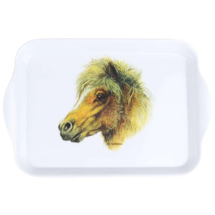 Shetlander Pony Dienblad Klein