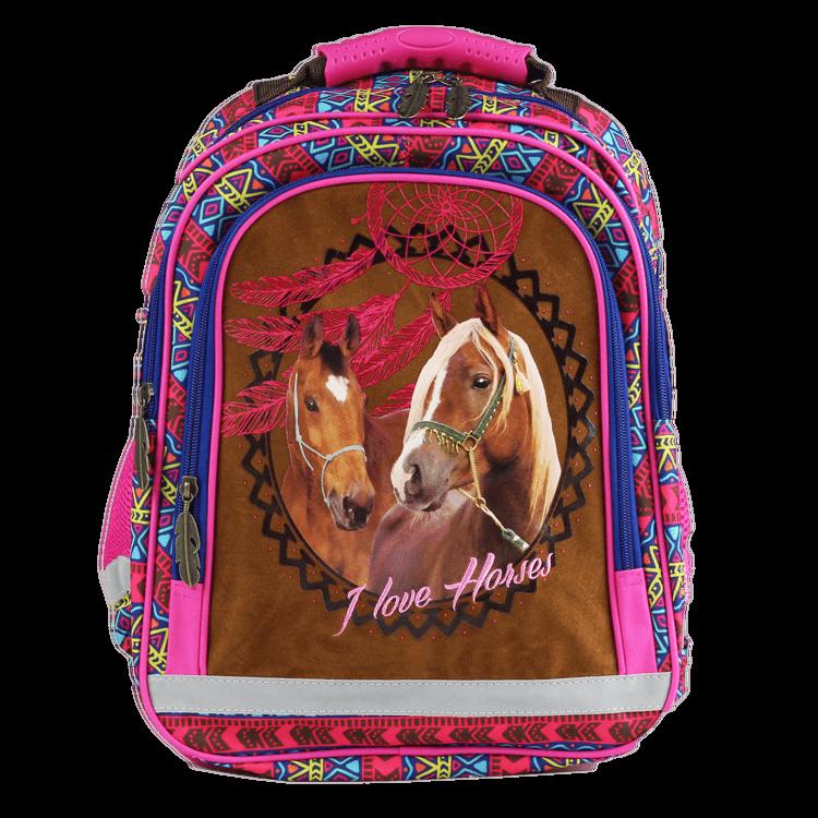 Paarden schooltas