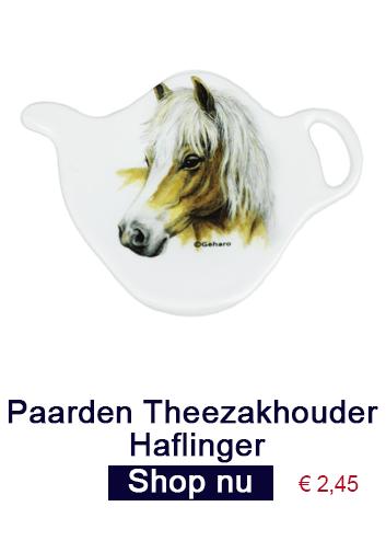 Theezakhouder haflinger