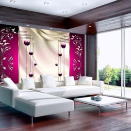 Paars Modern Art nr 417