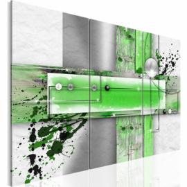 nr 36 Abstract Grijs Groen