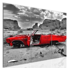 nr 1 Rode Cabrio
