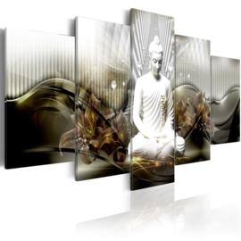 nr82 Modern Witte Buddha