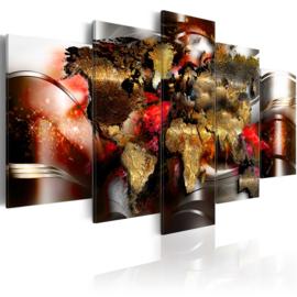195 Wereldkaart