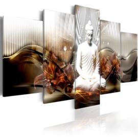 nr81 Modern Witte Buddha