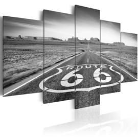 651 Zwart Wit Route 66