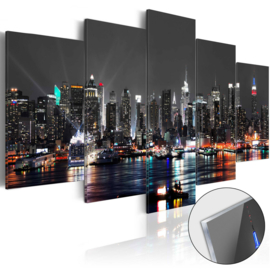 15 Skyline New York Acrylglas Schilderij