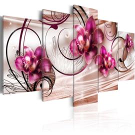 217 Modern Roze Orchidee