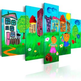 701 Huisjes Natuur Kinderkamer