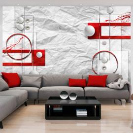 Rood Modern Art nr 249