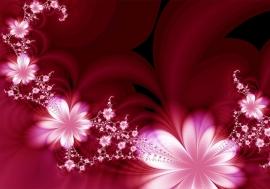 Abstract Bloemen nr96
