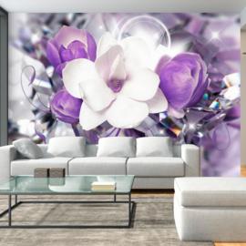 Paars Bloemen Modern nr 759
