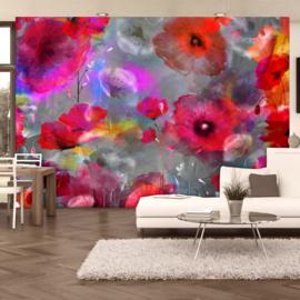 Roze Bloemen Modern nr 436
