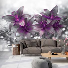 Paars Bloemen Modern nr 541