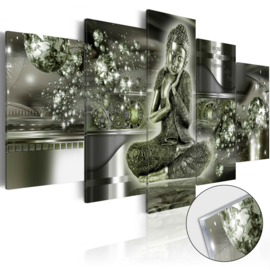 47 Buddha Acrylglas Schilderij