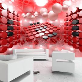 3d Modern Rood Art nr 720