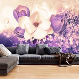 Paars Bloemen nr 255