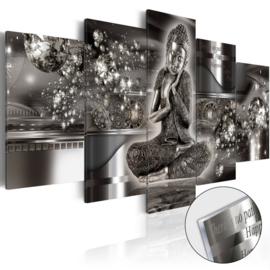 48 Buddha Acrylglas Schilderij