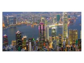 33 Hong Kong Glas Schilderij