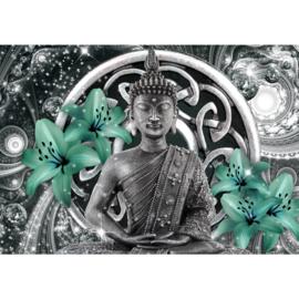 Buddha Grijs Groen nr 119