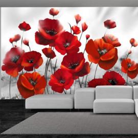Rood Bloemen nr 318