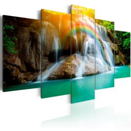 367 Paradijs Waterval Regenboog