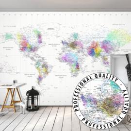 Wereldkaart Colors nr 945