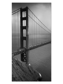 115 San Francisco Brug Glas Schilderij